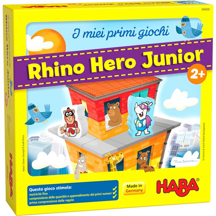 I miei primi giochi Rhino Hero Junior