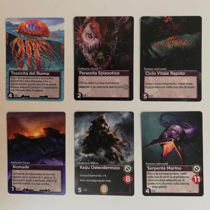 Oceani Deep Cards bundle 1