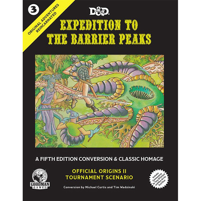 Original Adventures Reincarnated #3: Expedition to the Barrier Peaks