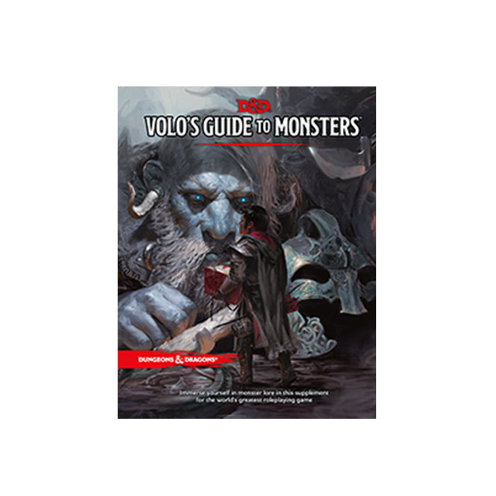 D&D RPG - Volo's Guide To Monsters