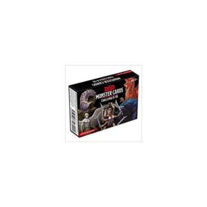 D&D Monster Card Deck Levels 6-16 (74 Cards)