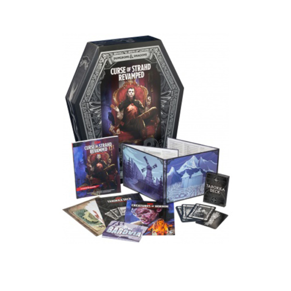 Dungeons & Dragons Curse of Strahd Revamped